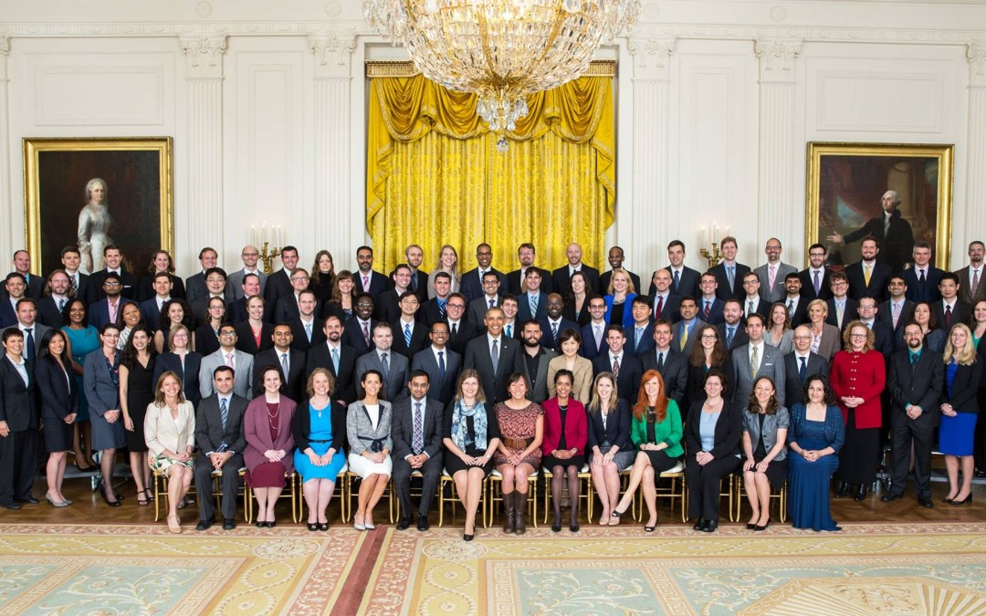 Dr. Dino Di Carlo attended a White House ceremony for the PECASE Award