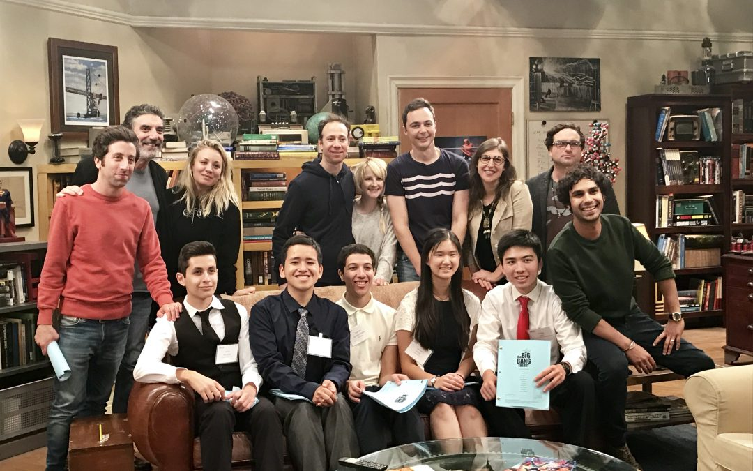 UCLA Big Bang Theory scholars meet their benefactors