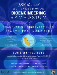 The 18th Annual UC Systemwide Bioengineering Symposium