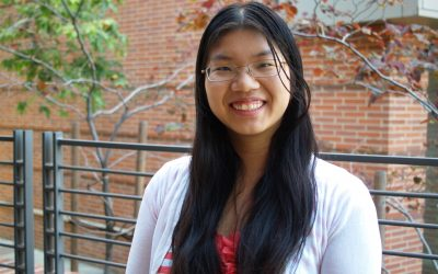 Congratulations to 2017-2018 Outstanding Bachelor of Science Award Recipient, Alice Summer Tang