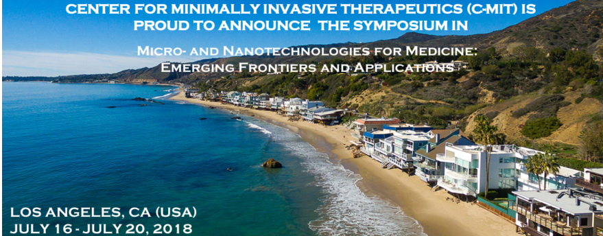 Register now for the 2018 Micro and Nanotechnologies for Medicine: Emerging Frontiers and Applications!