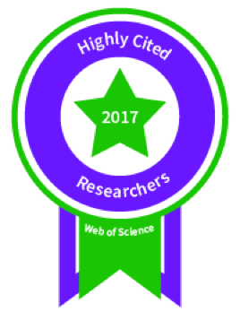 Prof. Ali Khademhosseini is recognized as a Highly Cited Researcher