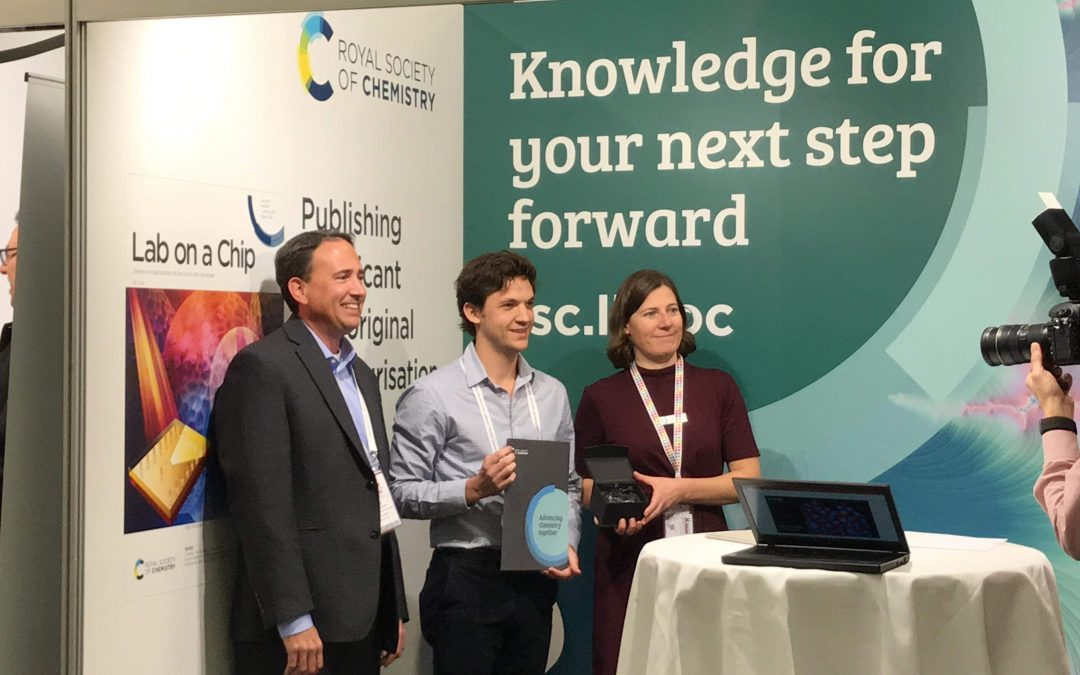 Di Carlo Lab Students Win Awards at MicroTAS Conference in Basel, Switzerland