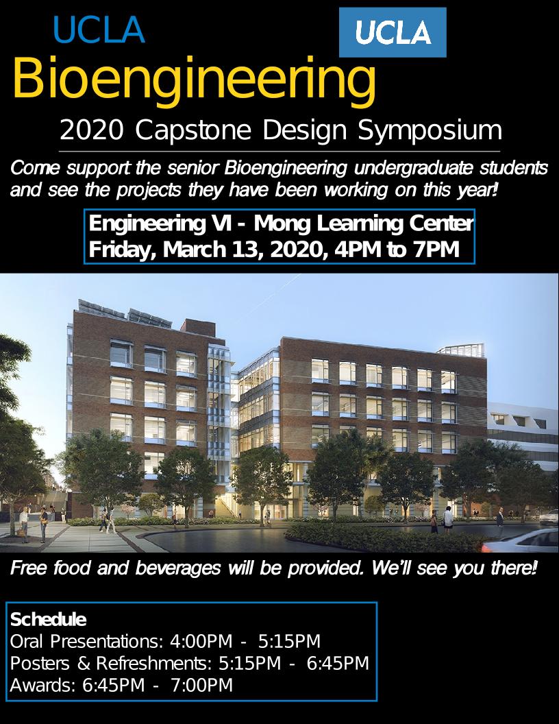 Bioengineering Capstone Symposium 2020